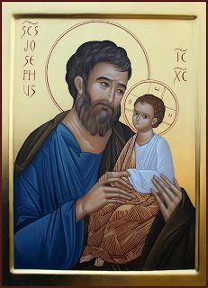 Religious Images, Religious Icons, Religious Art, Catholic Kids, Catholic Saints, St Joseph, Saints For Kids, Prayer For Fathers, Holy Art