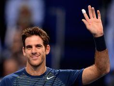 """Former US Open champion Juan Martin del Potro concedes that he was """"close"""" to retiring because of a persistent wrist injury....I am so glad he did NOT. Playing awesome tennis this year. Juan Martin has always been a favorite of mine."""