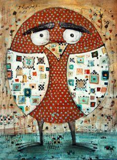owl by Elene Melkadze
