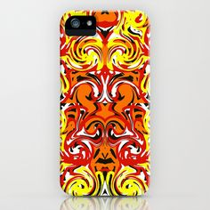 Intricate Tiger iPhone & iPod Case by Rokin Art by RokinRonda - $35.00