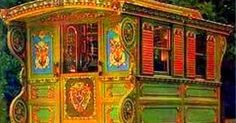 Beautiful Gypsy Wagons for the free spirits, the adventurers, the travelers on their magic carpets, the thinkers, the bohemian souls, the dr...