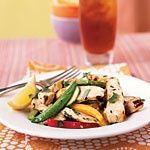 www.gaea.gr Grilled Chicken and Lemon Salad Recipes