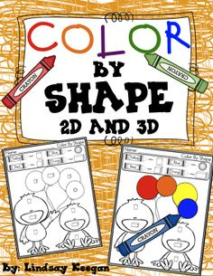 Color by 2D and 3D shapes