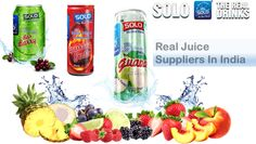 Real juices are very famous from past few years. There are many real juice suppliers which helps the industry to meet the demand of juice in a very good and affordable manner.