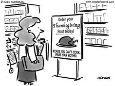 Thanksgiving Cartoons! Gobble gobble!