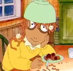 2 of my favorite things! Arthur and Spaghetti!!