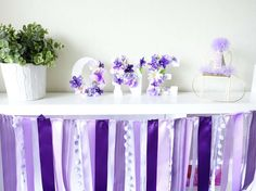Elegant Spring Bloom First Birthday Party | CatchMyParty.com