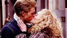 """The Carrie Diaries, 1x09, """"The Great Unknown,"""" aired 11 Mar. 2013. Sebastian Kydd (Austin Butler) & Carrie Bradshaw (AnnaSophia Robb). Sebastian: """"I know I don't say it as much as you do but, I'm kinda terrified, too."""" Carrie: """"Really?"""" Sebastian: """"Really."""" Carrie: """"I don't know why that makes me feel better but, it does."""" Sebastian: """"Me, too."""" Carrie: """"I know this could all go wrong. Clearly, there are no guarantees. But, I don't care."""" And then they start kissing."""
