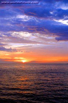 I love sunrises over the water...