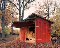 Nicest wood shed. Ever.