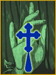 Yo te santiguo  en el nombre del Padre  (se dice el nombre de la persona)   del Hijo (repetir el nombre),   y del Espíritu Santo (repet...