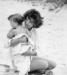 Jackie Kennedy and John John....so of course....i have a son named John