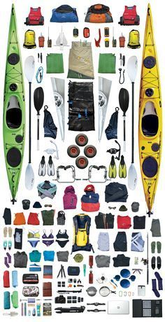 Kayak Packing List for the shores of Queensland                                                                                                                                                                                 More