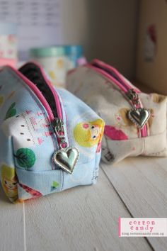 cute zipper shape for vaishali's pencil case - follow the link for the tutorial