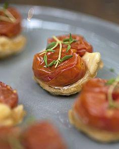 Tarte tatin de tomatinhos (Foto: Cacá Bratke/Editora Globo)