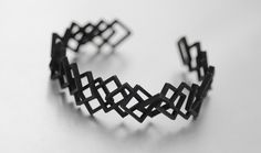 3D Printed Bracelet by Hot Pop Factory