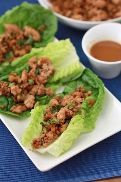 Chicken Lettuce Wraps - All the goodness of takeout, made at home! (GF, Paleo, Whole30)