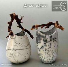 Rihab Raku added 6 photos and a video to the album: el Houch Raku. Raku Ceramics, Ceramic Sculpture, Clay Ceramics, Raku Kiln, Clay, Ceramic Design