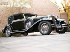 1930 Cord L-29 Sport Cabriolet by Voll & Ruhrbeck | Amelia Island 2013 | RM AUCTIONS