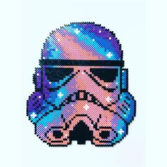 Stormtrooper Star Wars hama beads by Cille