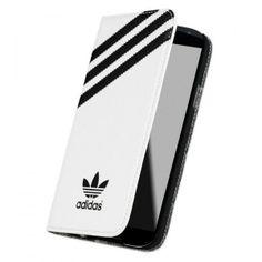 Le temps du blanc, pour votre galaxy s5 une belle housse folio Samsung blanche et noire.