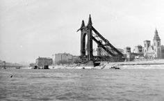 Erzsébet híd 1945