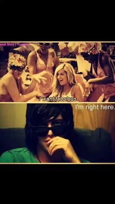 Kellin just wait a second ... What r u doing here ? No dont answer it's perfect