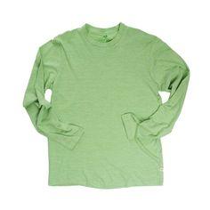 Locally Grown Clothing Co.- Men's Long Sleeve Crew- Merino + Cotton Collection #madeinusa