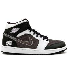 889bba8af01471 Air Jordan 1 Retro Fathers Day Black White 325514-011   60.00