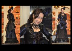 steampunk museum fashion show by numberjumble.deviantart.com on @DeviantArt