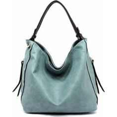 4ff60b8a32ae Women s Handbags  Handbag Republic Side Zip Hobo Handbag (Light Blue)   handbags  womensfashion