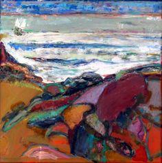 Bernard Chaet - White Waves