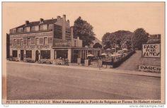 Uccle 122: Petite Espinette. Hôtel Restaurant de la Forêt de Soignes et Ferme St-Hubert réunis