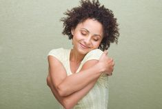 You deserve a hug. When you love your body, love will always be in your life. #positivity #bodypeace #health