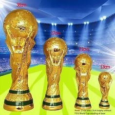 Fifa world cup #trophy replica #national #football soccer model gift full size 1:,  View more on the LINK: http://www.zeppy.io/product/gb/2/282348801039/