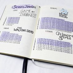 I am a big big fan of TV series. And actually I look at lot of different series. Any time I forgot what episode was my last one and then I must search. So I think a series tracker in the bullet journal could be very helpful in that case. Now I got an overview of all the series I love to see on 9 pages. Yes, because I hate looking TV but I love to watch some awesome series. Every time I saw an episode I can color it out very quickly. #bulletjournal #bulletjournallove #bujo #bujojunki...
