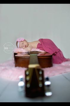 New born photography, guitar photography, baby and guitar, musician, new born guitar photo, guitar picture, new born guitar picture.