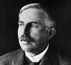 Ernest Rutherford - Physicist. Famous for splitting the atom and pioneering nuclear science, ironically New Zealand is a nuclear free zone.