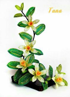 Как сделать хризантему из бисера #МК с пошаговым фото и ...