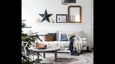 Tour Bright Home in Vintage Style, Netherlands, Christmas Decor