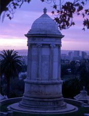 Tour Mountain View Cemetery and enjoy its park-like setting with amazing views. ~ Mountain View Cemetery in Oakland, California is a historic Olmsted-designed cemetery located in the foothills of Oakland and Piedmont. Mountain View Cemetery, Cemetery Monuments, Oakland California, Graveyards, Places Of Interest, Cathedrals, Bay Area, Day Trips, Galleries