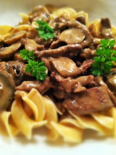 Beef Stroganoff, best thing is I can make it gluten free with gluten free flour and either rice or quinoa pasta (:
