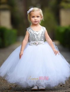 Sugar Princess Luxury Couture Flower Girl Dress