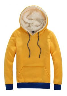 Yellow Slim Hoodie ($20.00) - Svpply