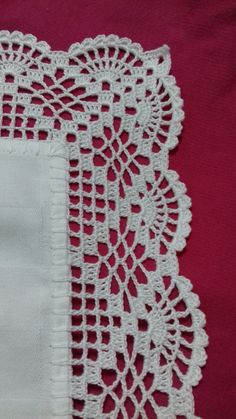 Crochet Edging Patterns, Lace Knitting Patterns, Crochet Borders, Crochet Patterns Amigurumi, Knitting Stitches, Cross Stitch Patterns, Crochet Doilies, Crochet Flowers, Crochet Coat