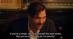 Ernest Hemingway - Midnight in Paris, Woody Allen