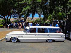Ford Falcon   Lowered 1963 Falcon Squire Wagon