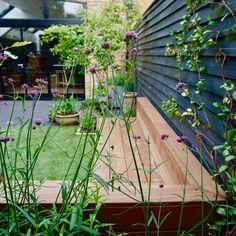 Precious Tips for Outdoor Gardens - Modern Small Courtyard Gardens, Back Gardens, Small Gardens, Garden Cottage, Garden Club, Home And Garden, London Garden, Covent Garden, Fresco