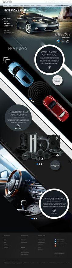 Lexus HTML5 Parallax by bil Chamberlin