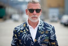 What a jacket, Nick Wooster!